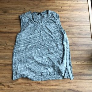 Grey and silver Jcrew tank